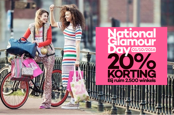 Piazza, WE Fashion, H&M, Esprit, National Glamour Day 2016